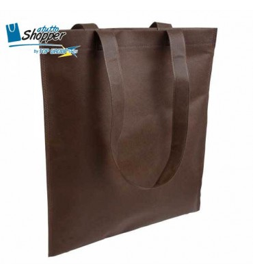 SHOPPER TNT AMEDEA 36X40 MARRONE
